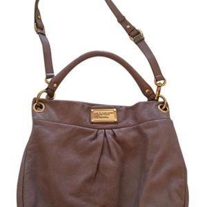 Marc Jacobs Classic Q Hillier Hobo Leather